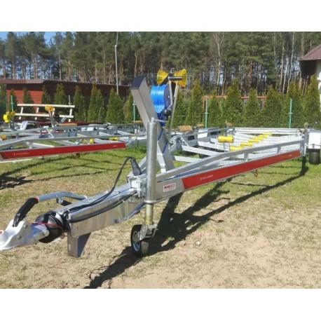 Przyczepa podłodziowa Tema B35/105/25 P do łodzi 9,5 m