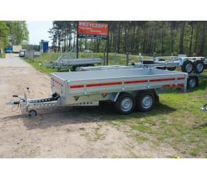 Przyczepa TEMA TRANSPORTER DMC 2000kg 360x171x30cm 2 osie
