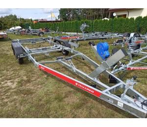 Przyczepa podłodziowa TEMARED B20VZ do łódki 7,5m
