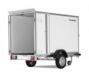 Przyczepa Brenderup Cargo 7260 B drzwi 260x155x150 cm