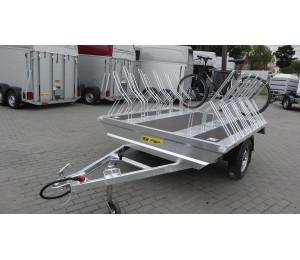 Przyczepa TA-NO do przewozu rowerów