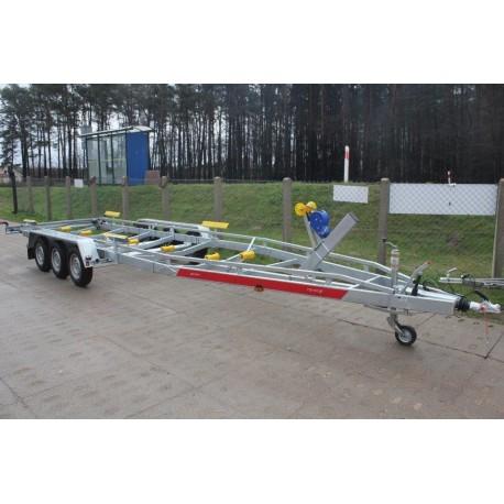 Przyczepa podłodziowa Tema B35/096/23V-3 DMC3500 do łodzi 9,5m
