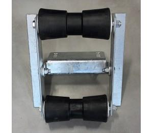 Rolka rufowa kilowa podwójna do przyczepy podłodziowej