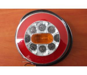 Lampa tylna zespolona LED pozycja/stop/kierunkowskaz FI140mm