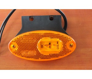 Lampa obrysowa LED owalna W65