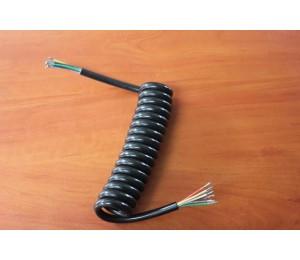 Przewód spiralny do instalacji przyczepy 7 żył