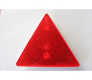 Odblask trójkątny ze śrubami