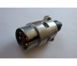 Wtyczka 7-biegunowa 12V aluminiowa