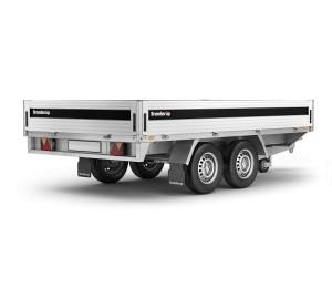 Przyczepa ciężarowa BRENDERUP 5375 dmc 2500kg