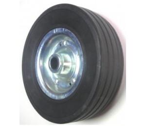 Kółko metalowo gumowe do koła podporowego fi 60