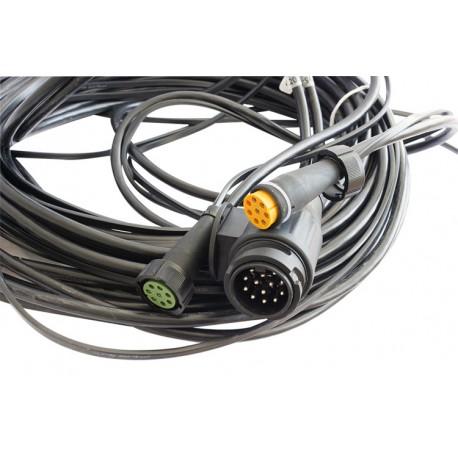 Bardzo dobra Wiązka elektryczna do przyczep ciężkich, lawet, instalacja 13 pin IB49