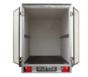Przyczepa BOX 2512, typu Cargo Furgon