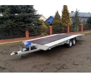 Laweta samochodowa Rydwan Euro B-2600/3/P5 PLATFORMA 600x195 cm